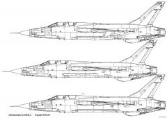 republic f 105 thunderchief 6 model airplane plan