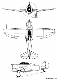 republic p 43 lancer model airplane plan