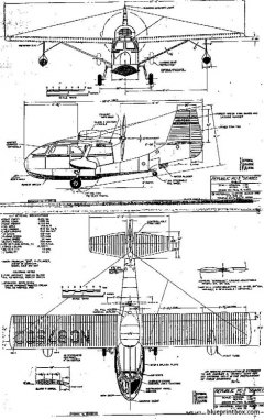 republic seabee 01 model airplane plan