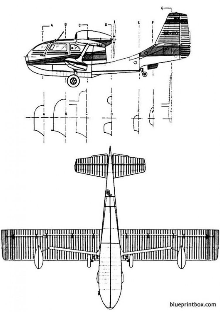 republic seabee 2 model airplane plan