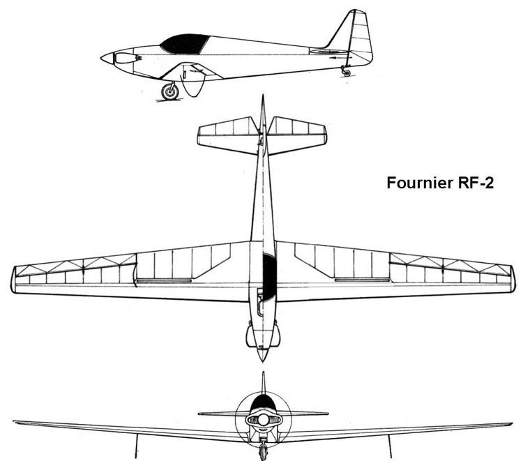 rf2 3v model airplane plan