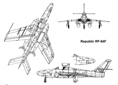 rf84f 3v model airplane plan