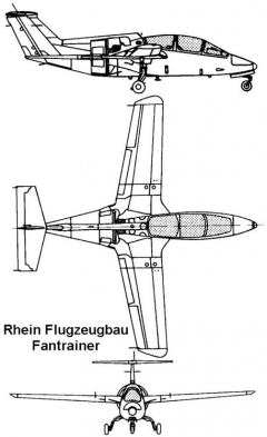 rh fantrainer 3v model airplane plan