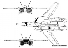 robotech plane 02 model airplane plan