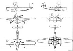 rohrbach robbe 2 model airplane plan