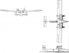 rohrbach rodra 2 model airplane plan