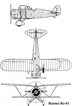 romeo41 3v model airplane plan