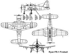 ryan fr1 3v model airplane plan