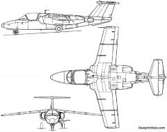 saab 105 1963 sweden model airplane plan