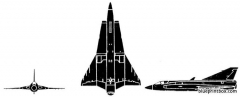 saab draken model airplane plan