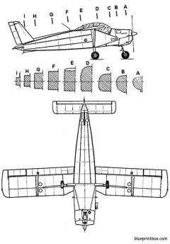 saab mfi 9 militainer 2 model airplane plan