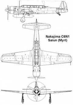 saiun 1 3v model airplane plan