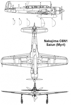 saiun 2 3v model airplane plan