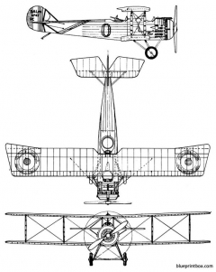 salmson sal 2a2 model airplane plan