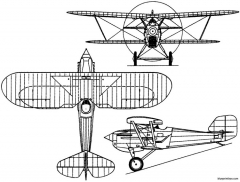 saunders a10 1929 england model airplane plan