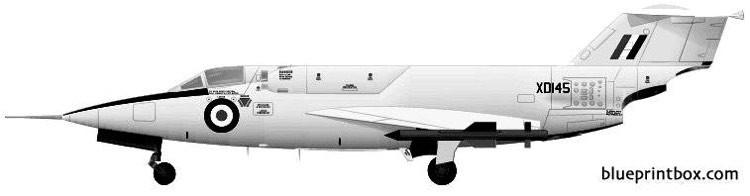 saunders roe sr53 model airplane plan