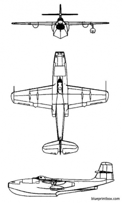 saunders roe sra1 model airplane plan