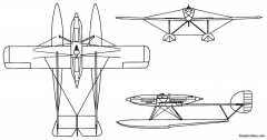 savoia marchetti sm 65 model airplane plan