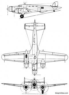 savoia marchettism 84 model airplane plan