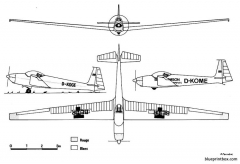 schleicher ask 14 model airplane plan