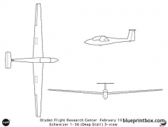 schweizer1 36 model airplane plan