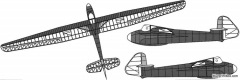 scott viking sailplane model airplane plan