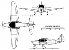 se2310 3v model airplane plan