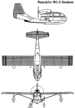 seabee 1 3v model airplane plan
