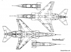 sepacat jaguar 2 model airplane plan