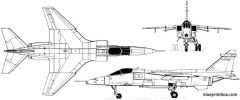 sepecat jaguar 1969 model airplane plan