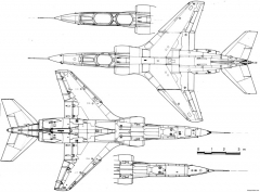 sepecat jaguar 2 model airplane plan