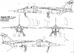 sepecat jaguar 4 model airplane plan