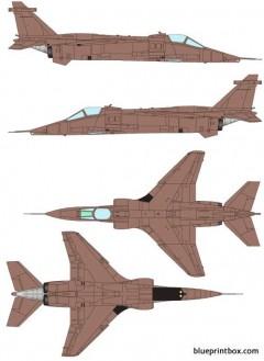 sepecat jaguar grmk1 model airplane plan