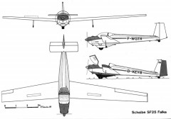 sf25 3v model airplane plan