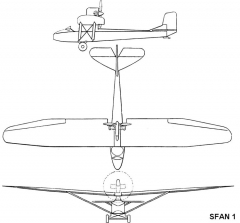 sfan1 3v model airplane plan