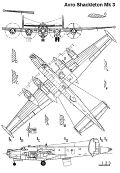shackelton 3v model airplane plan