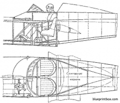 shavrov sh 2 02 model airplane plan