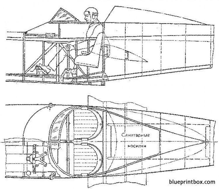 shavrov sh 2 02 model airplane plan