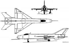 shenyang j 8 1969 china model airplane plan