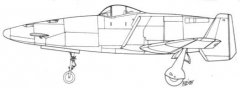 shinden kai model airplane plan
