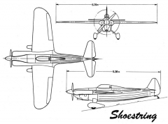 shoestring 3v model airplane plan