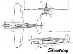 shoestring 3v model airplane plan