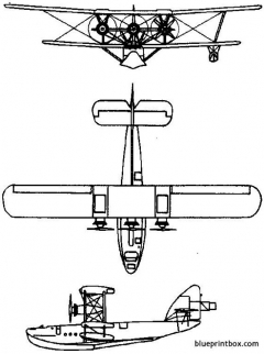 short s8 calcutta 1928 england model airplane plan