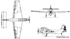 short sb6 seamew 1953 england model airplane plan