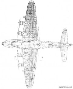 short seaford 01 model airplane plan