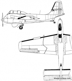 short seamew as1 model airplane plan