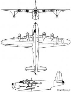 short sunderland mk iii model airplane plan