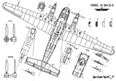 si204 3 3v model airplane plan
