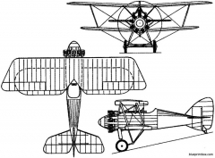 siddeley sr2 siskin 1919 england model airplane plan
