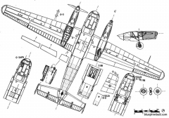 siebel si 204 2 model airplane plan